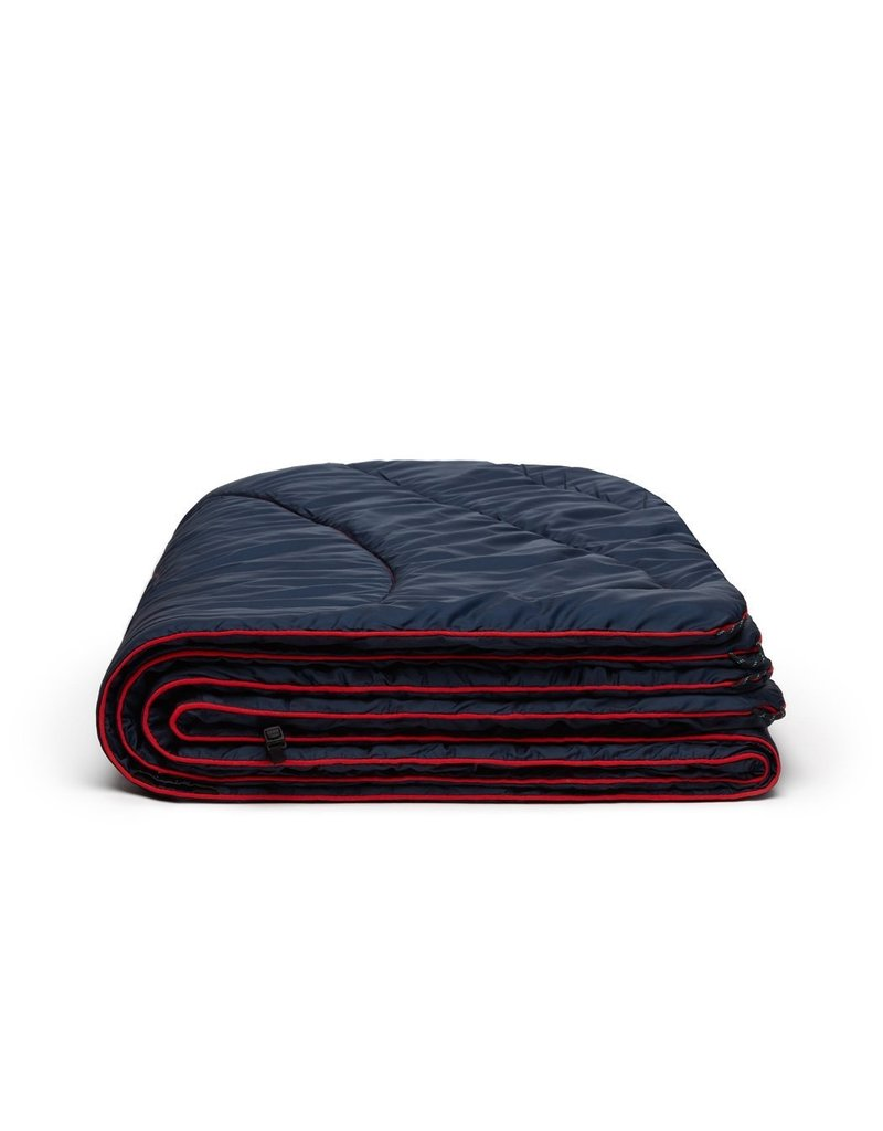 Rumpl Solid Puffy Blanket 52x75 Deep Water