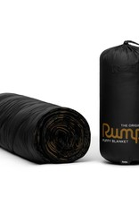 Rumpl Solid Puffy Blanket 52x75 Black