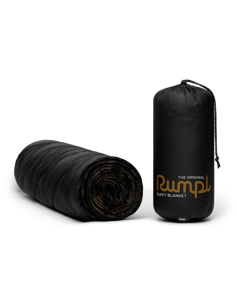 Rumpl Original Puffy Blanket 52x75 Black