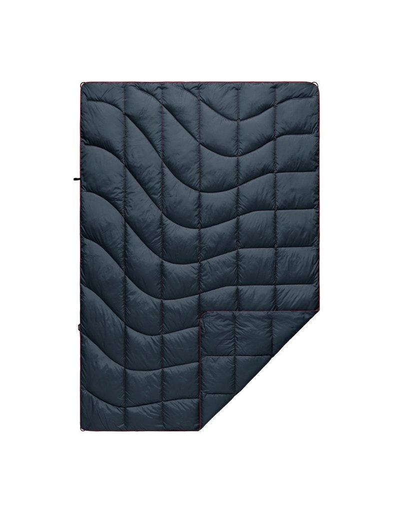 Rumpl Nanoloft Puffy Blanket 52x75 Deep Water