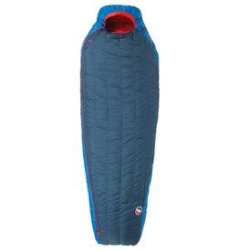 Big Agnes Anvil Horn 30 (650 DownTek) LONG LEFT Blue/Red