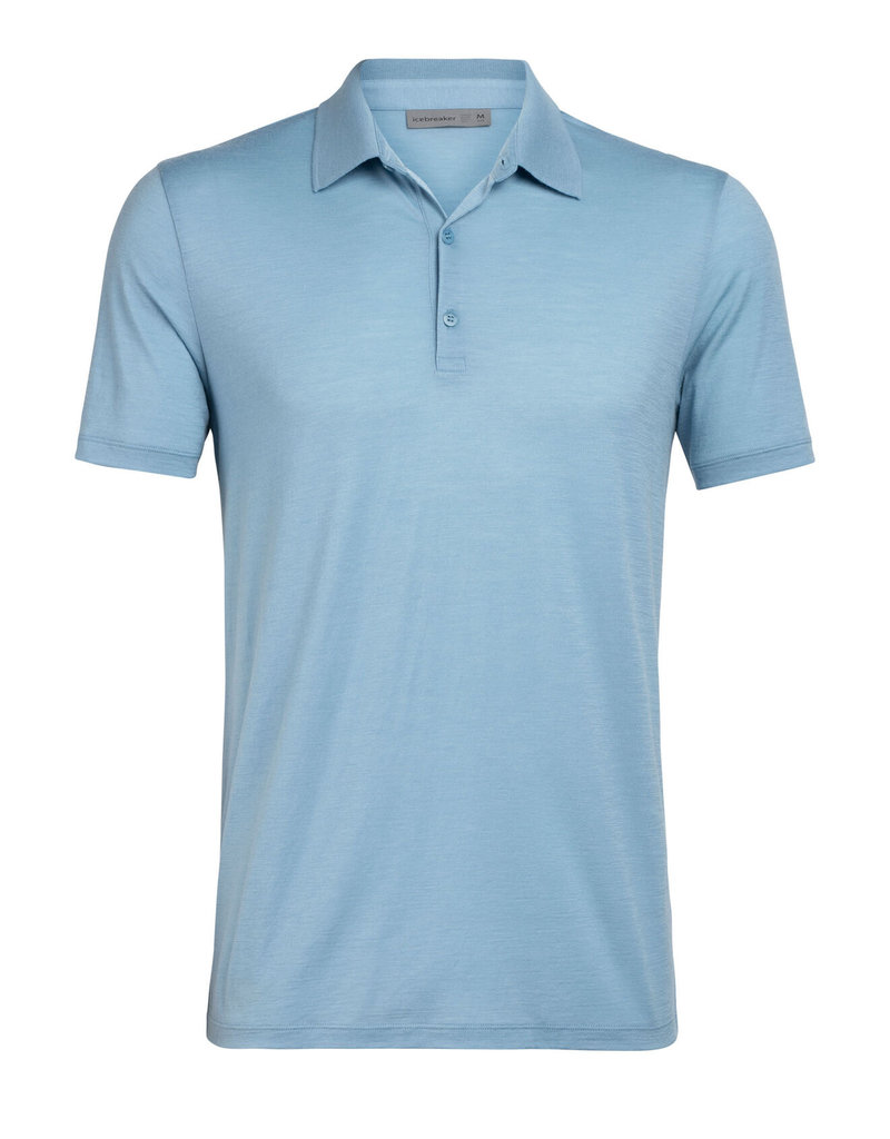 Icebreaker Mens Tech Lite SS Polo