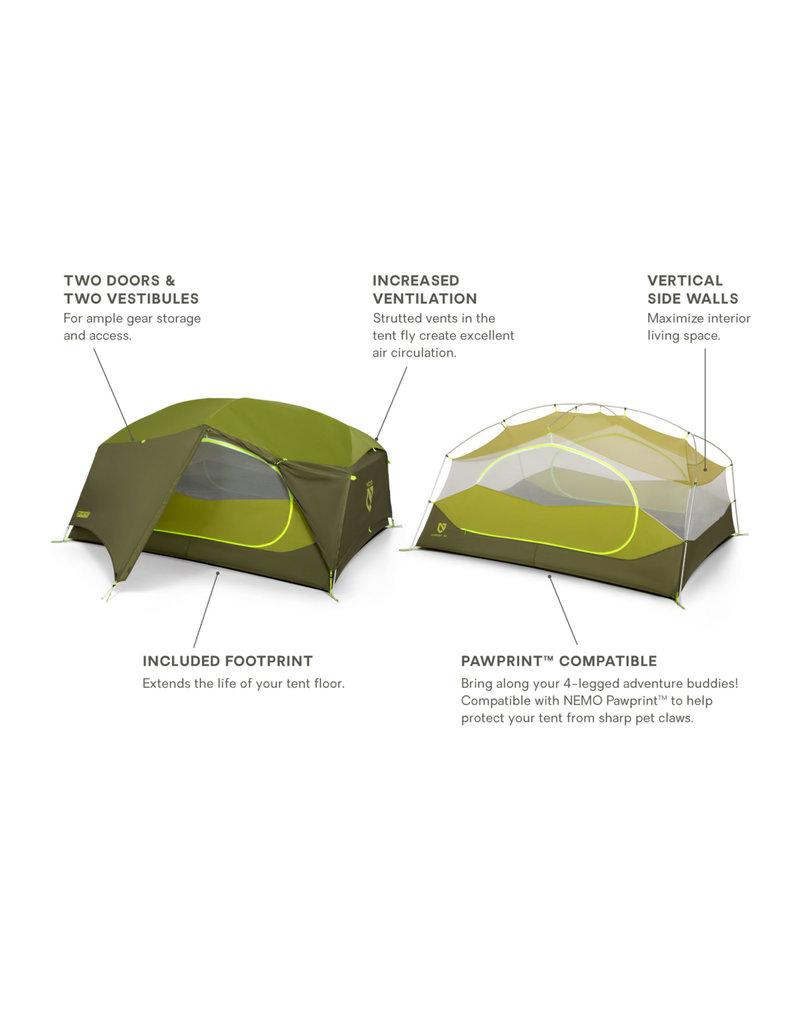 NEMO Equipment Aurora 3P & Footprint