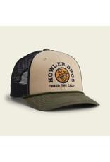 Howler Brothers El Monito Seal Hat - Khaki/Navy/Rifle
