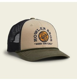 Howler Brothers El Monito Seal Hat - Khaki/Navy/Rifle