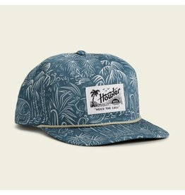Howler Brothers Panhandle Print Snapback - Off White