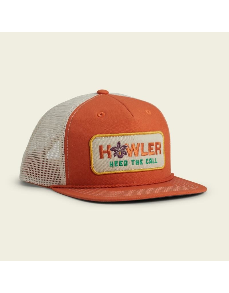 Howler Brothers Guaria Morida Snapback - Tangerine