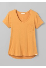 prAna Foundation Short Sleeve Vneck