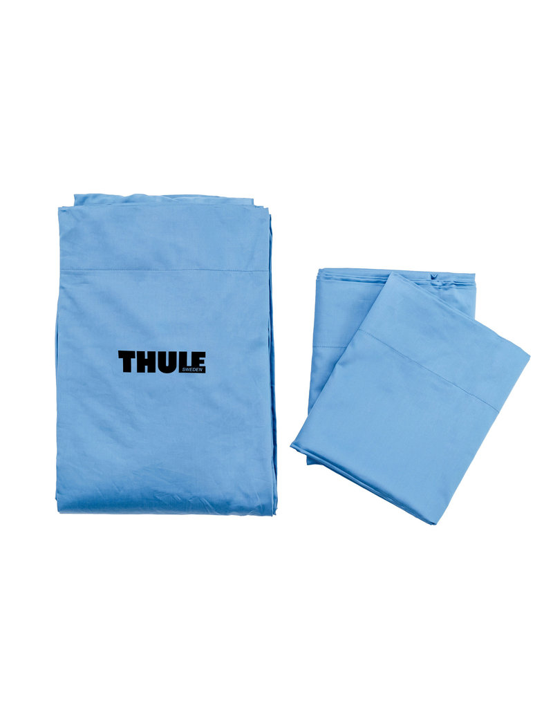 THULE Ayer Fitted Sheets - Wedgewood Blue