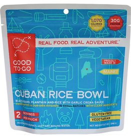 Good To-Go Cuban Rice Bowl 2P