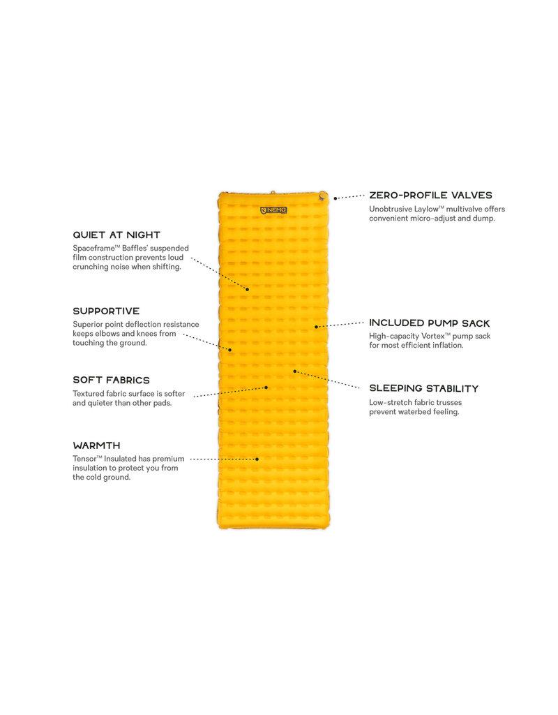 NEMO Equipment Tensor Insulated Long Wide