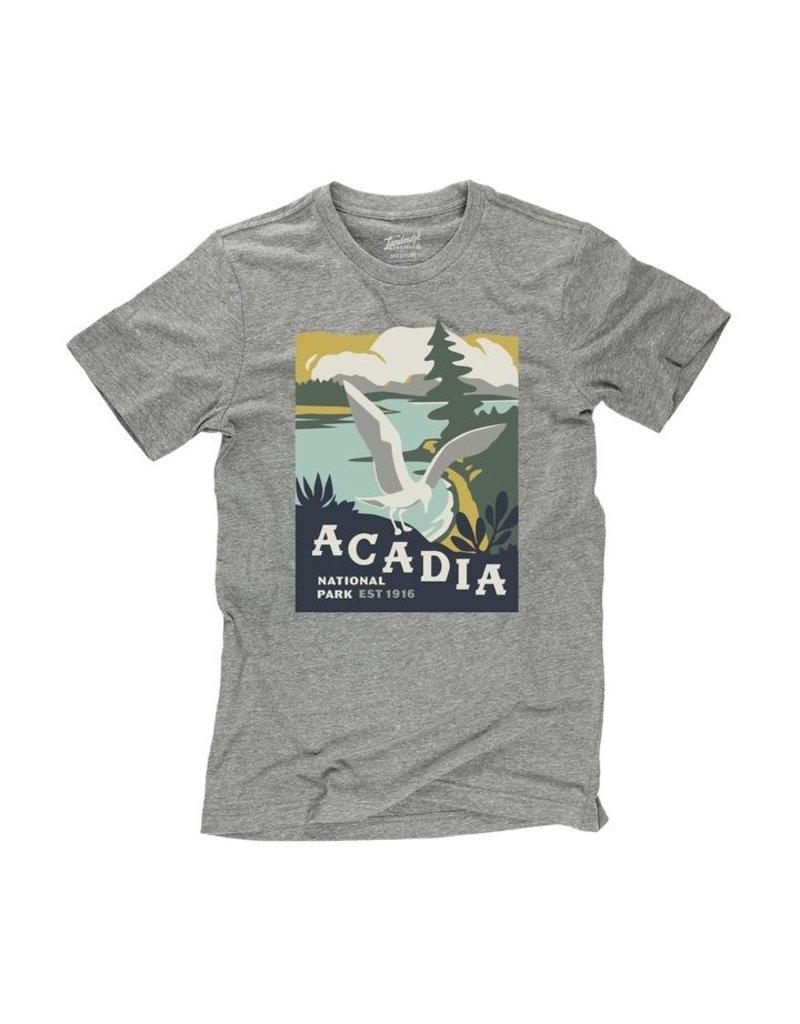Landmark Project Acadia National Park Bird Short Sleeve