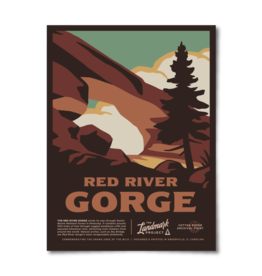 Landmark Project Red River Gorge Poster