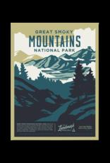 Landmark Project Smoky Mountains National Park Poster