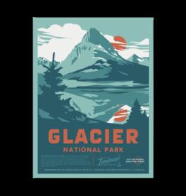 Landmark Project Glacier National Park Poster