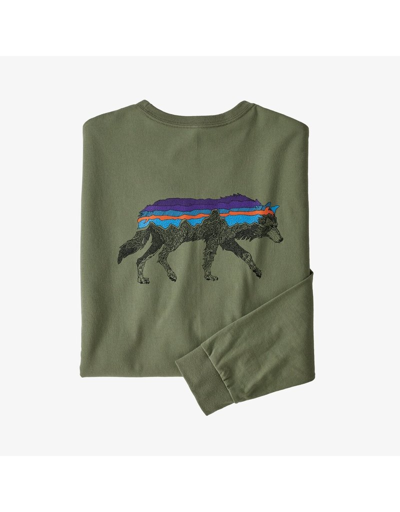 Patagonia M's L/S Back For Good Responsibili-Tee