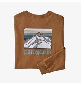 Patagonia M's L/S Line Logo Ridge Responsibili-Tee