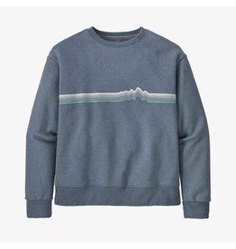 Patagonia W's Ridge Rise Stripe Uprisal Crew Sweatshirt