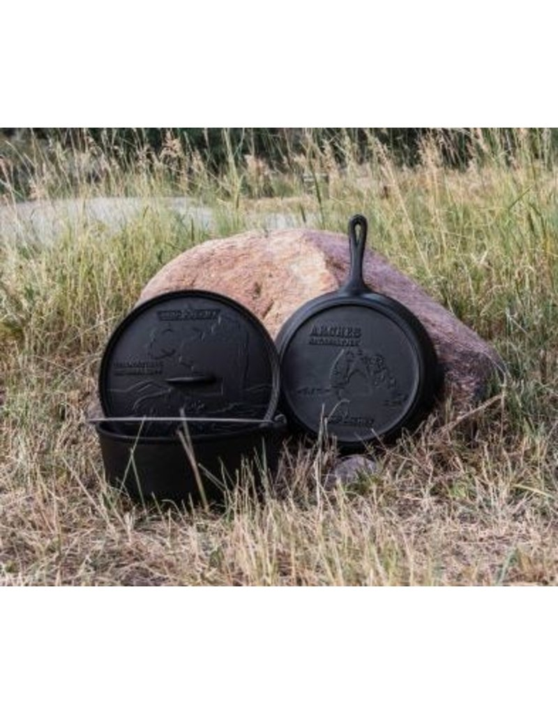Camp Chef National Parks Cast Iron Set (12 in Dutch Oven, 12 in Skillet & Lid)