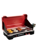 Camp Chef Mountain Series Rainier 2X Two-Burner Cooking System w/ Griddle & Carry Bag