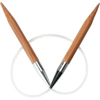 ChiaoGoo ChiaoGoo Bamboo Patina Fixed Circular Knitting Needle