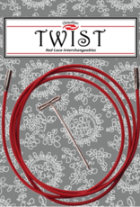 ChiaoGoo Twist Red Cables - Large
