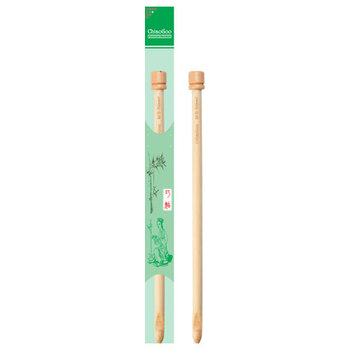 "ChiaoGoo ChiaoGoo Natural Bamboo Tunisian Crochet Hook - 33cm / 13"""