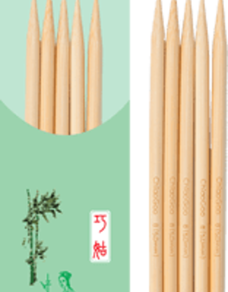 ChiaoGoo ChiaoGoo Premium Bamboo Natural Double Pointed Needles