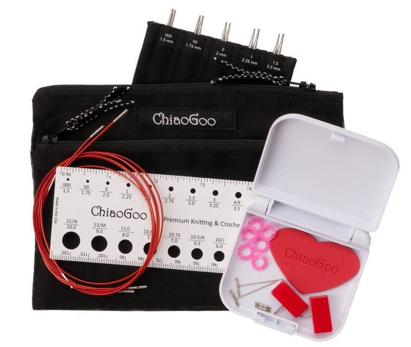 "ChiaoGoo ChiaoGoo Twist Mini Sets - 4"" or 5"""