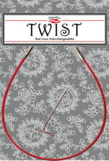 ChiaoGoo Twist Red Cables - Shorties