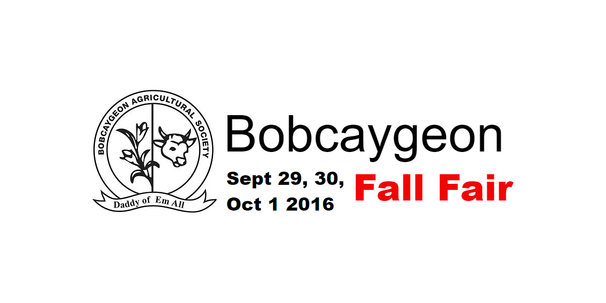 Come visit our booth at the Bobcaygeon Fall Fair this Friday & Saturday!