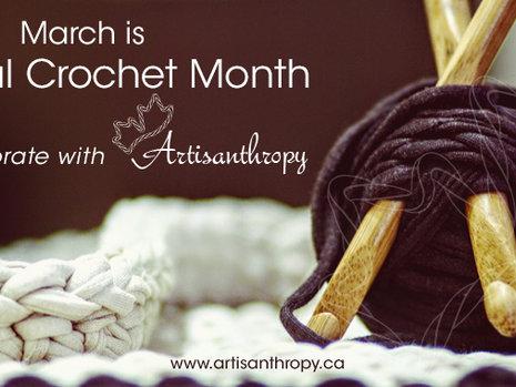 Celebrating National Crochet Month