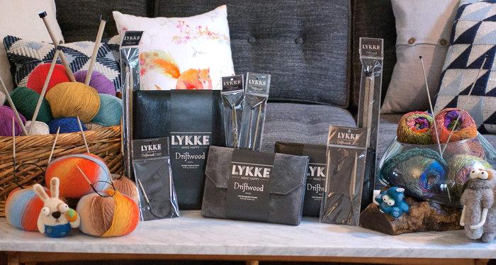 LYKKE Driftwood, Indigo & Umber Needles Now In-Stock!