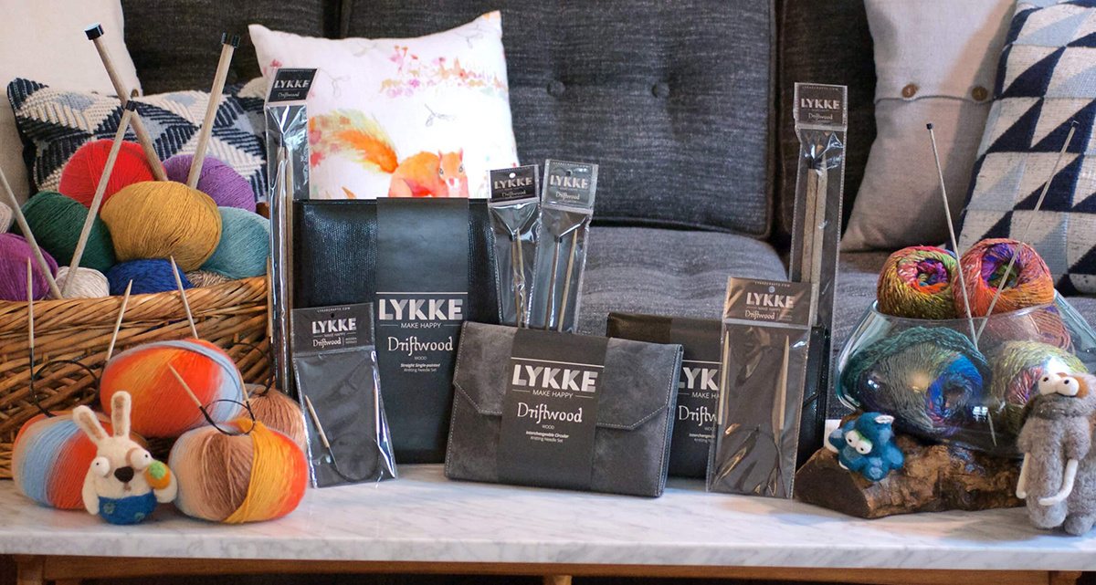 LYKKE Driftwood, Indigo & Umber Needles Now In-Stock!