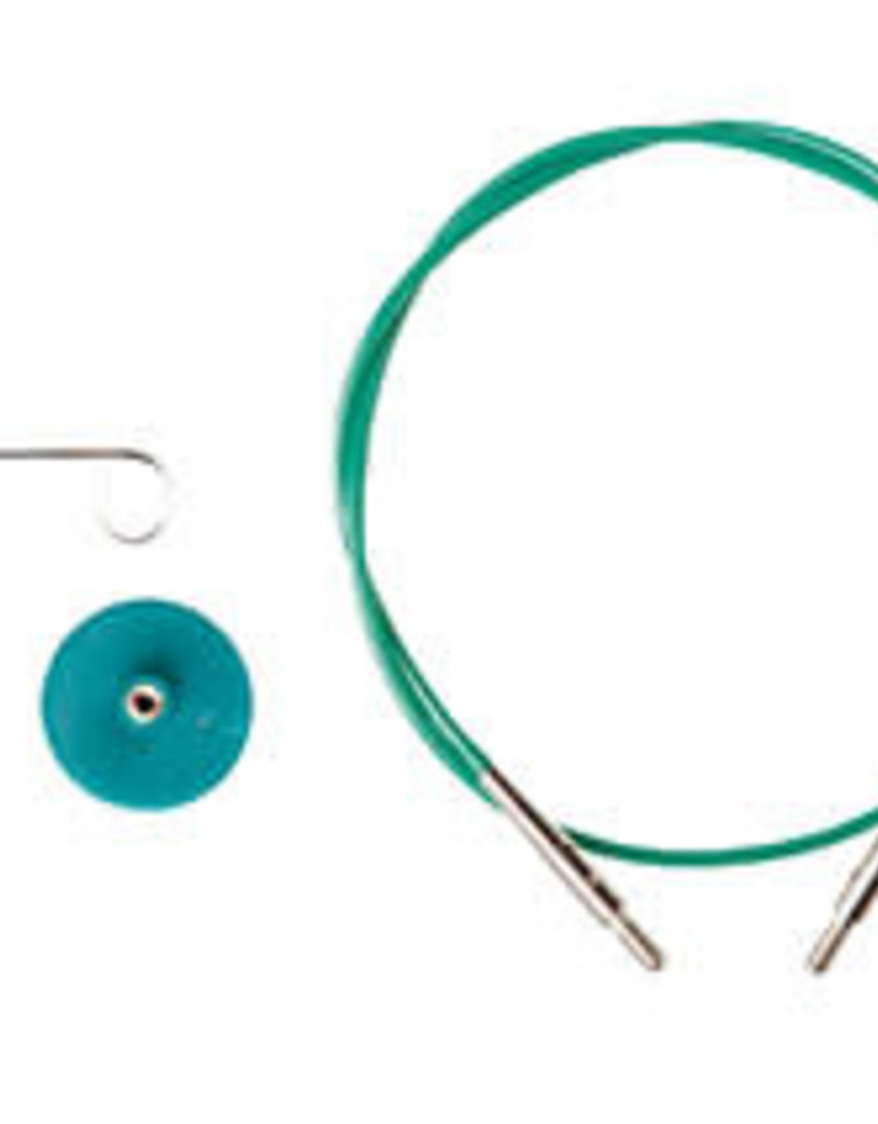 Knit Picks Knit Picks Interchangeable Circular Knitting Needle Cable in Green