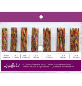 Knit Picks Knit Picks Rainbow Wood Double Pointed Needles Set
