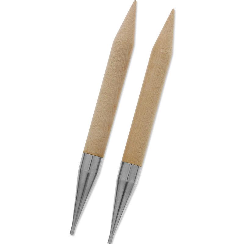 Knit Picks Knit Picks Jumbo Birch Wood Interchangeable Circular Needle Tips