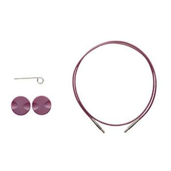 Knit Picks Knit Picks Purple Cable