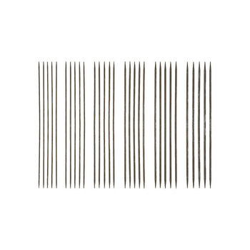 "Knit Picks Knit Picks Nickel-plated 6"" Double-pointed Knitting Needle Set"