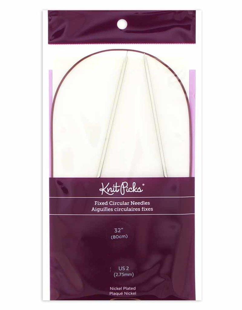 Knit Picks Knit Picks Nickel-Plated Fixed Circular Knitting Needles