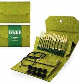 "LYKKE Crafts Lykke Grove Bamboo 5"" Interchangeable Set - Green Basketweave"