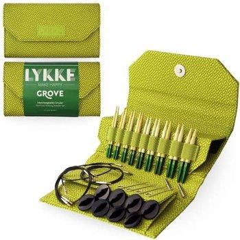 "LYKKE Crafts Lykke Grove Bamboo 3.5"" Interchangeable Set - Green Basketweave"