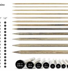 Lykke Driftwood Straight Single-Pointed Needles