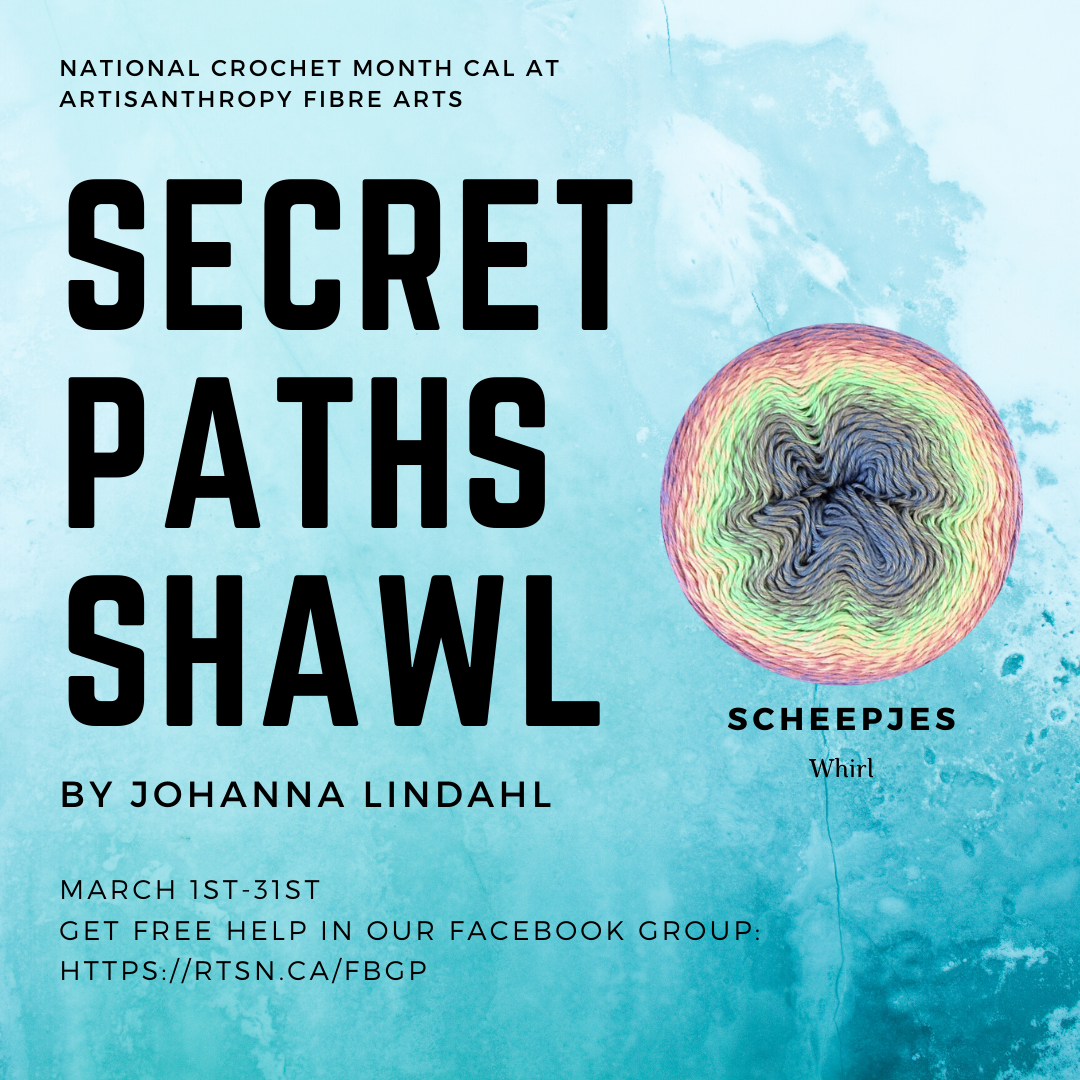 Secret Paths Crochet-A-Long