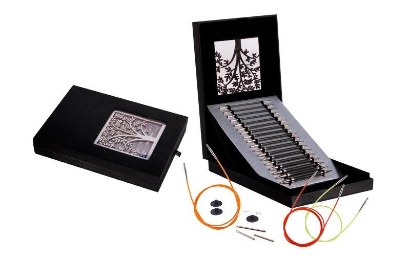 Knitter's Pride Knitter's Pride Karbonz Box of Joy Interchangeable Knitting Needle Gift Set
