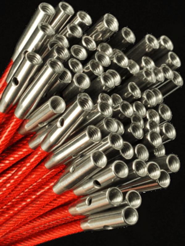 ChiaoGoo ChiaoGoo Twist Red Cables Mini (75 M)