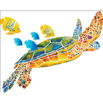 Heaven and Earth Designs Sea Turtle