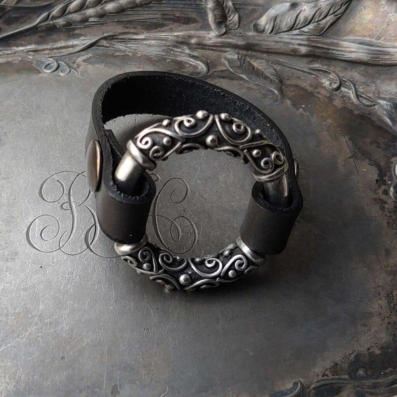 JUL Designs Jul Designs Filigree Cuff & Shawl Pin