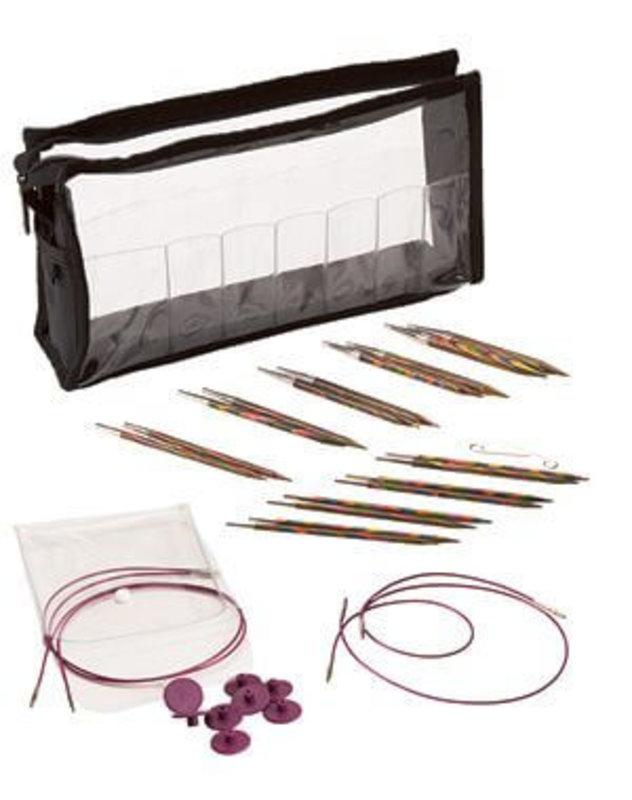 Knit Picks Knit Picks Rainbow Wood Interchangeable Knitting Needle Set