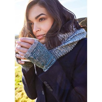 Rowan Rowan Cashmere Tweed: Nether Fingerless Mitts Kit